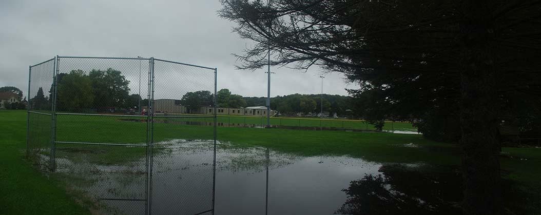 Black Earth, Community Park, large ball field.