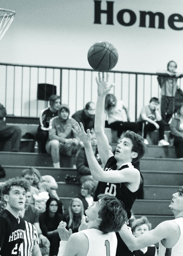 Wisconsin Heights' boys basketball team dropped a pair of games last week.Marshall defeated the Vanguards, 54-52, on Feb. 4. New Glarus also...