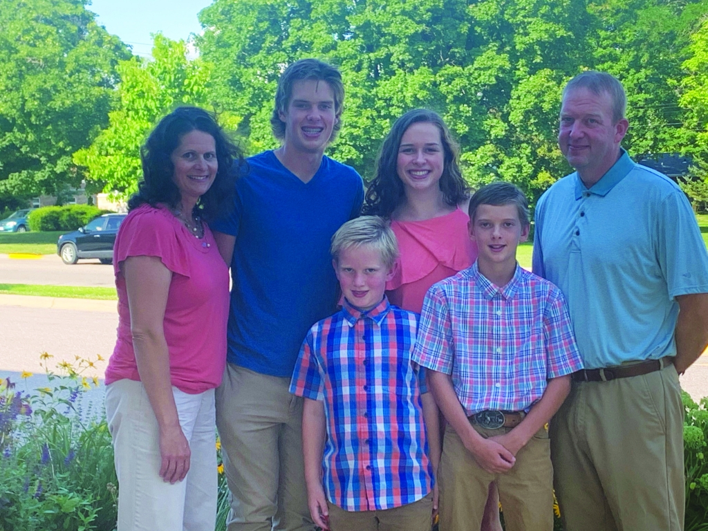 Wisconsin Knights of Columbus State Family Coordinator, Joe Uchytil announced the Eric and Heidi Breunig Family have been selected as the Madison...