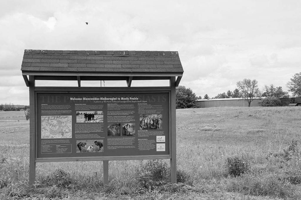 The largest remnant of the former 14,000-acre Sauk Prairie now features an interpretive kiosk at its Fullerton Drive entrance in Prairie du Sac,...
