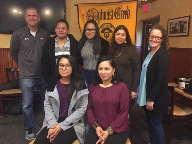 Ana Romero Ruiz, daughter of Alonso Alcantar-Rios and Ana Ruiz-Hernandez was selected at SPHS Optimist October Student of the Month by Taya Greene...