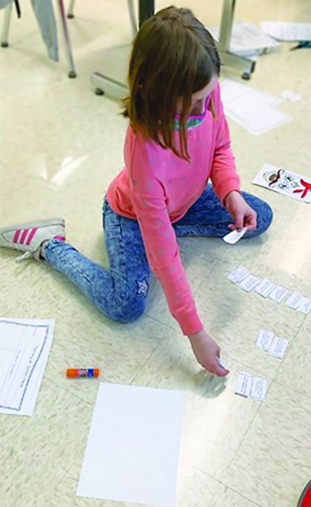At Grand Avenue Elementary, students in Mrs. Trachsler's 4th grade class worked hard on understanding and sorting different opinions.