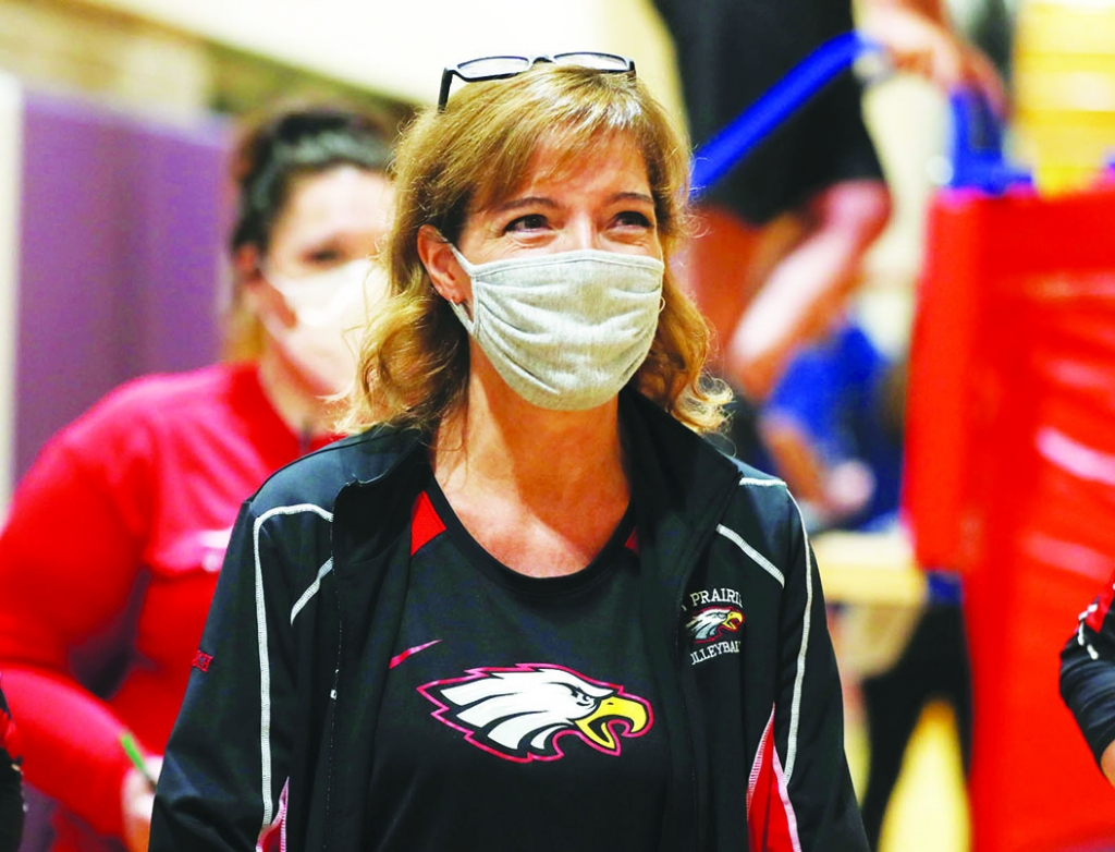 Sauk Prairie's girls volleyball team begins postseason play Thursday night.And the Eagles are heading to the playoffs with a full head of...