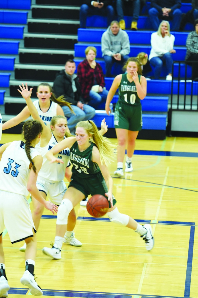 They battled.They fought.In the end, though, the hole was simple too big to escape.Wisconsin Heights' girls basketball team dug itself a...