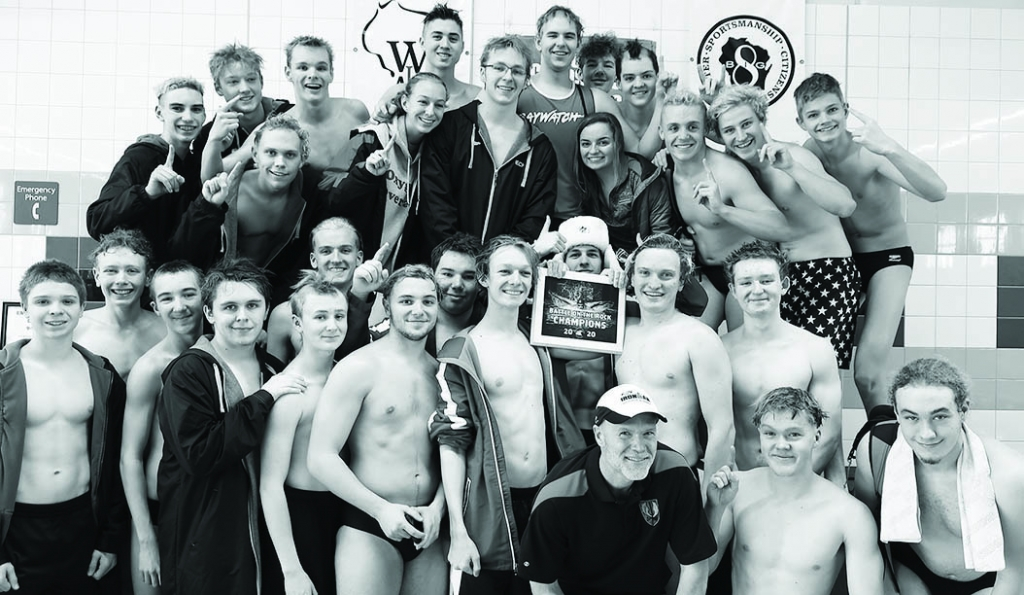 It was business as usual for the Sauk Prairie/Wisconsin Heights boys swimming team last Saturday. The Eagles won just one event at the Battle...